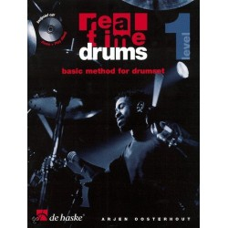Boek Realtime Drums 1