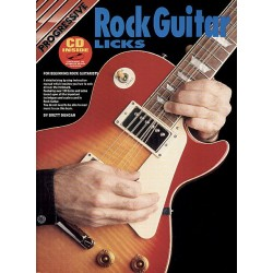 Boek Rock Guitar licks - Progressive
