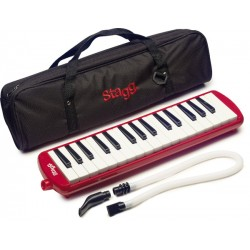 Melodica rood - Stagg